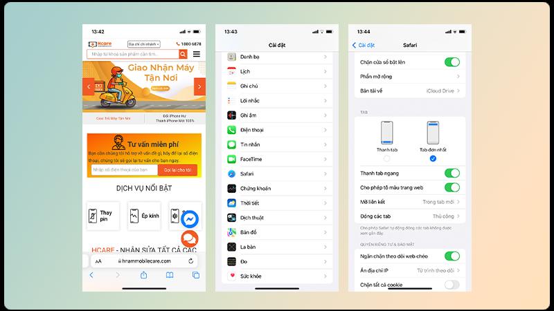 Giao diện mới trên Safari iOS 15 có đang làm bạn lạ lẵm và khó chịu không?