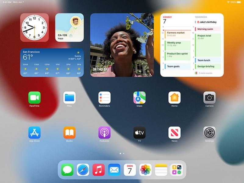 iPadOS 15 có được App Library từ iOS 14