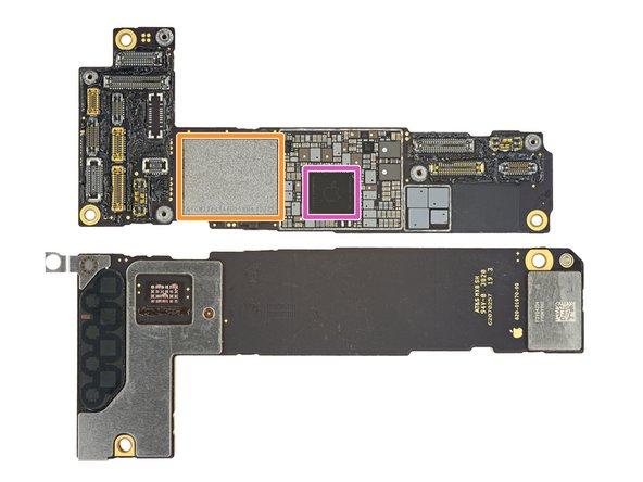 Mặt ngoài mainboard iPhone 12