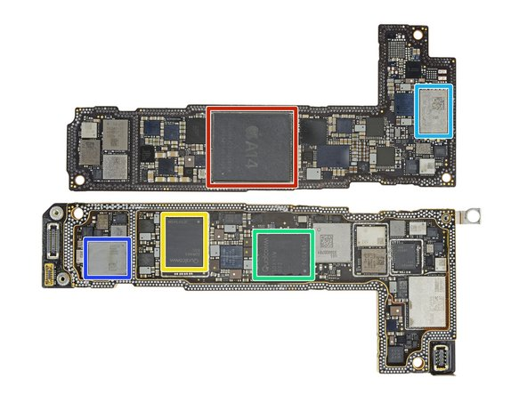 Mặt trong mainboard iPhone 12