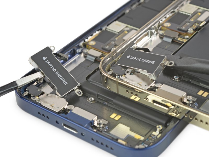 Taptic Engine, rung iPhone 12 và iPhone 12 Pro