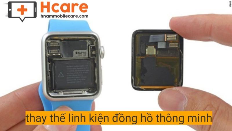 Dịch vụ thay linh kiện Apple Watch